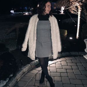 Jackets & Blazers - White Faux Fur Coat